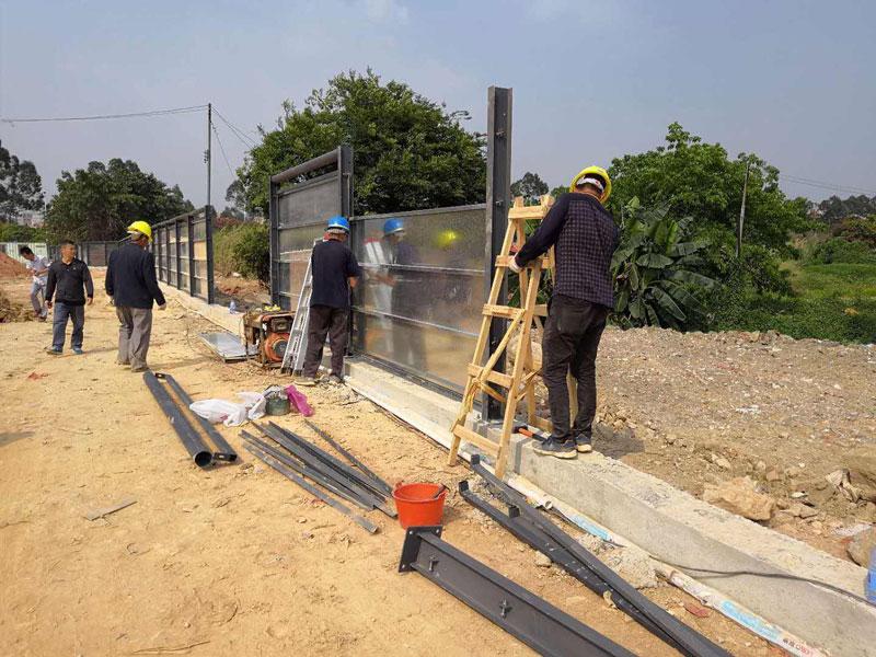 二米的市政施工围蔽围墙多少钱一平方