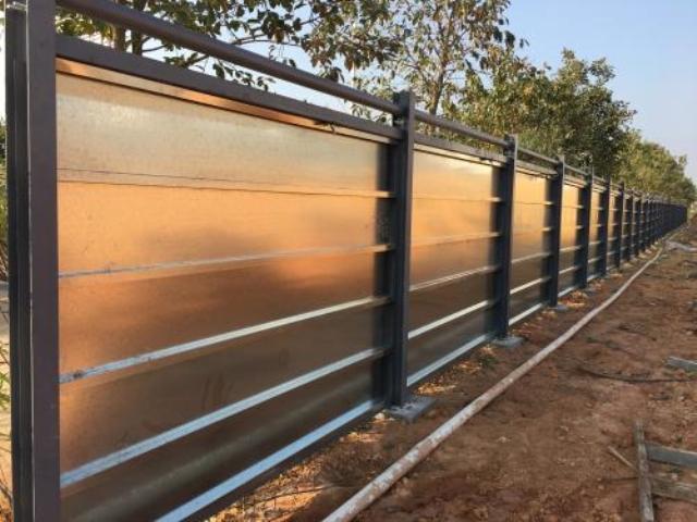 新型装配式钢结构围挡